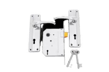 Lockset 5-lever economax