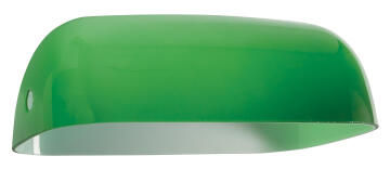 Brightstar Bankers Lamp Spare Glass Green