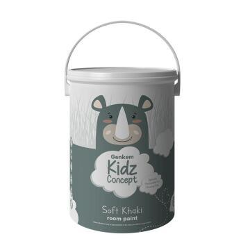 Wall Paint Kids Room GENKEM KIDZ Khaki 5l