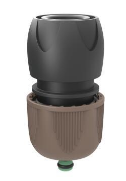 Irrigation hose connector universal GF Aquastop eco friendly