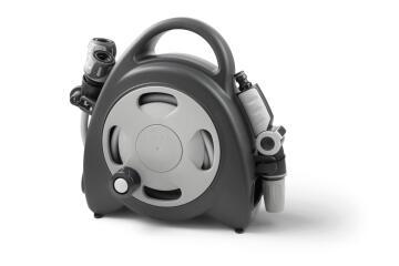 Hose & reel mini GT Aquabag grey 10m