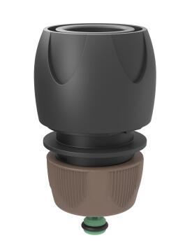Irrigation hose connector GF Aquastop eco friendly 12-15mm