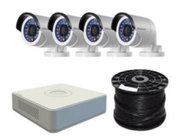 CCTV 4CH/4CAM DVR KIT HIKVISION