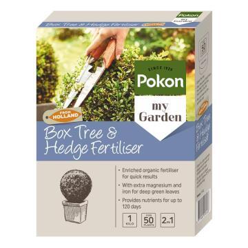 Fertiliser, Plant Food, Box Tree and Hedge Fertiliser, POKON, 1kg