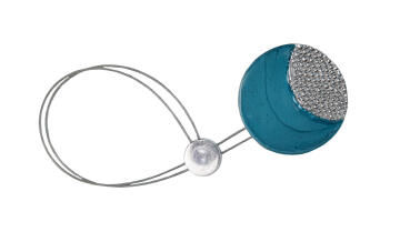 Curtain Tie Back Magnetic Blue