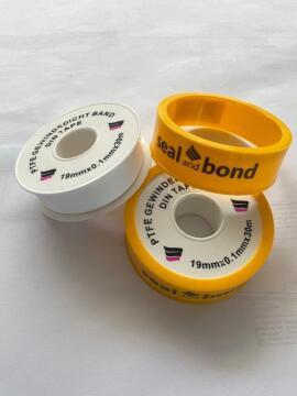 PTFE TAPE SEAL BOND 19MM X 0.1MM X 30M