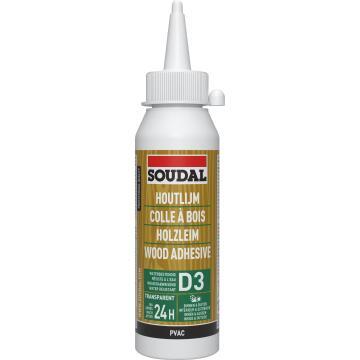 PVA wood adhesive D3 125g Soudal