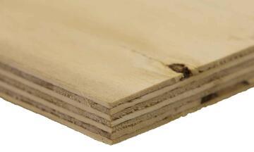 Pine shutterply grade C+/C 18mm thick 2440x1220mm