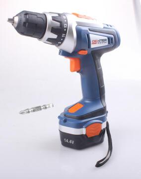 Cordless drill DEXTER POWER 14.4V 2 bat Ni-Mh 1.5 Ah