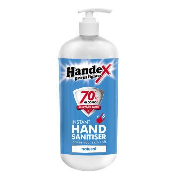 Hand sanitizer HANDEX 70% alcohol 1L disposable refill