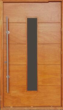 Door exterior marine plywood & frame left hand W1310 x H2120cm
