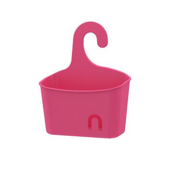Shower Caddie hang small size basket SENSEA easy pink