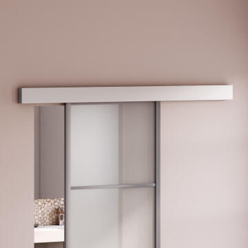 Sliding Mechanism Yumbo ARTENS for Wooden Door up to 60kg and 930mm width with Aluminium Rail Cover