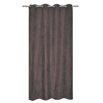 CURTAIN MANCHESTER TAUPE EYELT 140X280CM