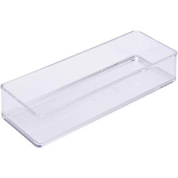 Organizer puzzle cosmetic box acrylic SENSEA transparent 22.8X7.6X5CM