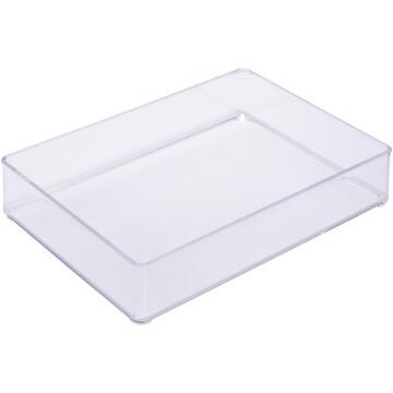 Organizer puzzle cosmetic box acrylic SENSEA transparent 22.8X15.2X5CM