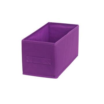 Polyester basket purple 15X31X15cm