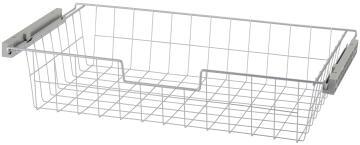 Metal sliding basket H15 X W80 x D45