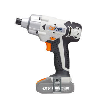 Cordless impact wrench DEXTER POWER 18V bare