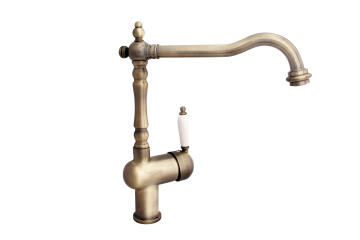 Kitchen tap conventional mixer Armor bronze