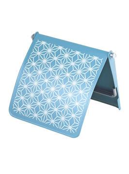 Paper holder wall mounted metal SENSEA boheme blue