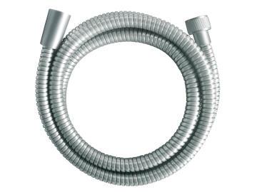 Shower hose stainless steel double interlock satin SENSEA 1.75m
