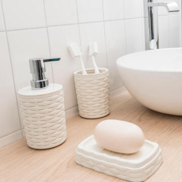 Soap dish SENSEA Cottage cream
