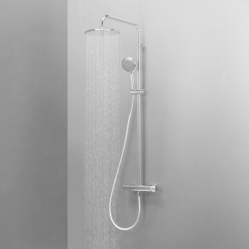 Full system shower 3jets acs chrome SENSEA Redondo 26X26CM