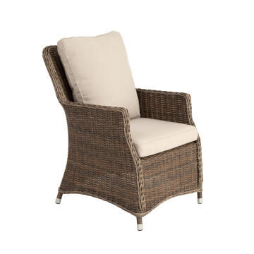 Chair Armchair Wicker Manhattan NATERIAL