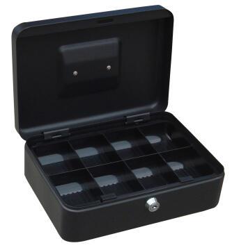 Cash box metal 250x180x90mm