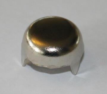 8 Nut Cover Nickel Pltded 16
