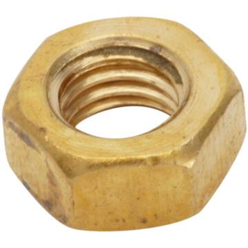 Brass hexagon nuts 4mm 30pc standers