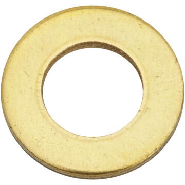Flat washer brass plated D10mm 4pc standers