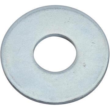 Flat washer wide middle zinc plated D20mm standers