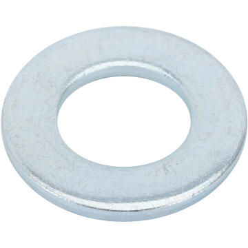 Flat washer medium middle zinc plated D18mm 2pc standers