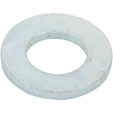 Flat washer narrow middle zinc plated D8mm 20pc standers