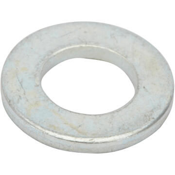 Flat washer narrow middle zinc plated D5mm 75pc standers