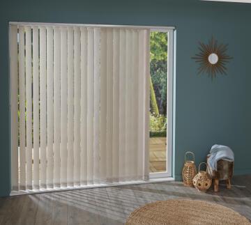 Vertical Blind Panel INSPIRE Peb Grey 6 89mm
