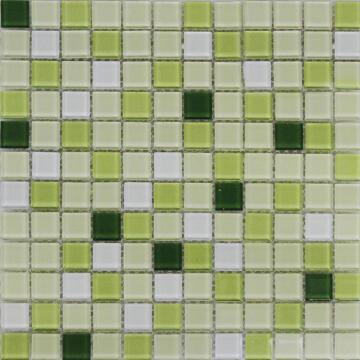Mosaic Glass Shaker Green ARTENS 30x30cm