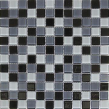 Mosaic Glass Tile ARTENS Shaker Grey 30x30cm