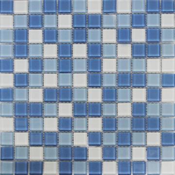Mosaic Glass Shaker Blue ARTENS 30x30cm