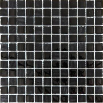 Mosaic Glass Textured White ARTENS 30x30cm
