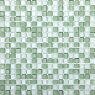 Mosaic Glass Tile ARTENS Tonic Green 30x30cm