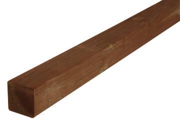 Post Wooden Brown 7 cm X 7 cm X 180 cm