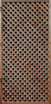 TRELLIS LEA BROWN TH30 - 90 CM X 180 CM
