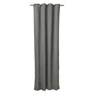 Curtain Eyelet Kimino Black & White 140x250cm