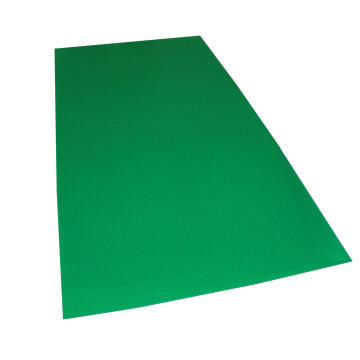 Synthetic Glass Polypropylene Hollow Core Green 3mm thick-2000x1000mm