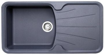 Sinkgr+Resi Korona 1B1D Grey 98X51