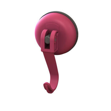 Shower Suction Hook SENSEA easy pink