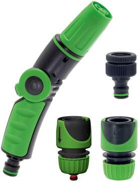 Spray Nozzlekit 3Jets ,Tap Adap W/ 2 Con